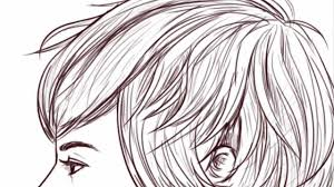 hhort haircut sketches for man short hairstyle for african ladies hairstyle for women man