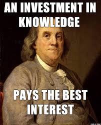 Meme Knowledge - benjamin franklin knowledge meme on imgur