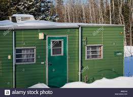 building a home in michigan abandoned mobile home in michigan winter lots snow forest no not