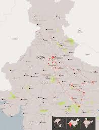 Map Of Nepal India by Tiger U0026 Jungle Safari In India Jungle Safaris Andbeyond