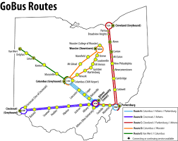 Canton Ohio Map by Ohio Go Bus Routes