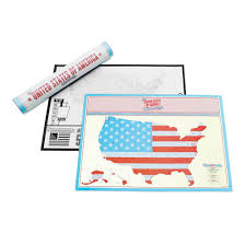 United States Of Anerica Map by Scratch Map Usa Travel Edition For The United States