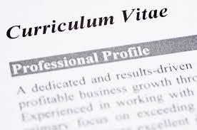 what is a cv curriculum vitae