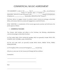 record label agreements music contract template free band