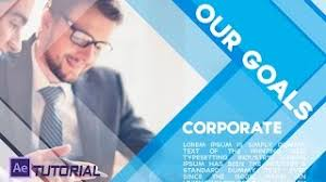 corporate video presentation after effects template
