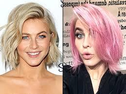 julie ann huff new haircut julianne hough dyes blonde locks bubblegum pink hairstyle photo