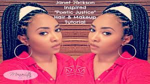 how many bags a hair for peotic jusitice braids janet jackson poetic justice makeup braid tutorial youtube