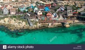 popeye village malta mellieha anchor bay popeye village general view of the