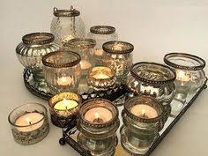 vintage tea light holders antique effect t light holders set of four lights gold candle