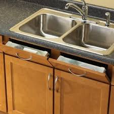 Kitchen Sink Tray Rev A Shelf 3 8125 In H X 14 In W X 2 125 In D White Polymer