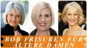 Bob Frisuren F Frauen by Aktuelle Bob Frisuren Für ältere Damen