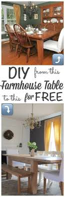 Diy Farmhouse Dining Room Table Diy Farmhouse Table Restoration Hardware Inspired Farmhouse