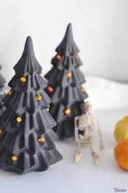 decorated halloween trees halloween tree diy tutorial darice