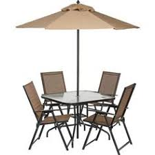 6 Piece Patio Set by Amazon Com Best Folding Patio Set With Umbrella Hole Chairs