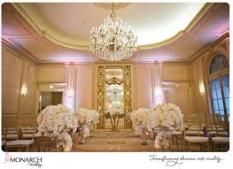 Crystal Chandelier Centerpiece Blush French Vintage Wedding At Westgate Hotel By Monarch Weddings