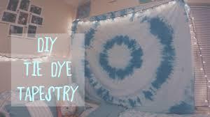 diy tie dye tapestry youtube