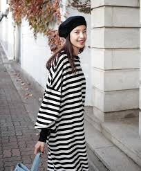 buy crew neck long t shirt dress she says 18 malaysia