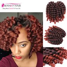 wand curled hairstyles 8 inch wand curl crochet hair extensions 20roots pack ombre