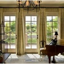 Window Tre Window Treatment Ideas For Doors 3 Blind Mice French Door Window