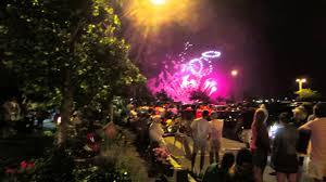 fourth of july fireworks celebration in provincetown cape cod