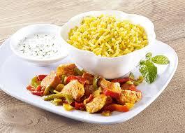 riz cuisiné poulet façon tandoori et riz basmati surgelé gamme plats cuisinés