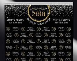 new years back drop new years starry hours step and repeat banner event
