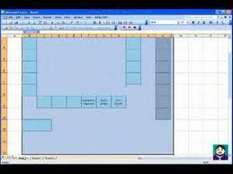 exle of floor plan drawing microsoft excel 02 create a seating chart youtube