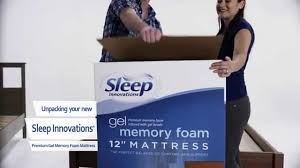 Sleep Innovations How To Unpack A Sleep Innovations Mattress Youtube