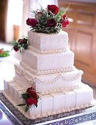square wedding cakes pictures of wedding cakes