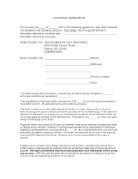auto purchase agreement form doc by nyy13910 purchase contract