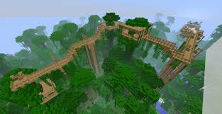 jungle treehouse network v1 1 minecraft project