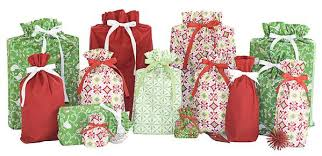 cloth gift bags cloth gift bags by livingethos christmas cloth gift bags