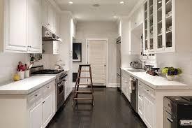 galley kitchen with island layout voluptuo us