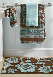 fantastical blue brown bathroom decor bathroom decorating in blue