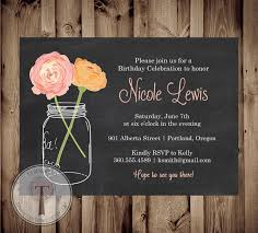 elegant birthday party invitations cimvitation