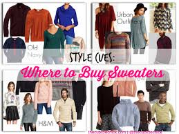 style cues where to buy sweaters