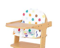 siege pour chaise haute housse pour coussin chaise haute pinolino