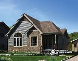 Four Bedroom Bungalow Floor Plan House Plan W3314 Detail From Drummondhouseplans Com