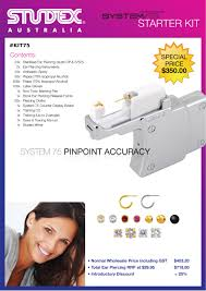 studex system 75 kits studex system 75 kit australian piercing systems aps