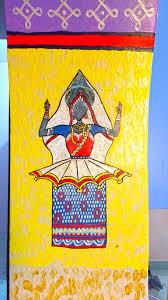 wall art art peace wall mural manipuri 2