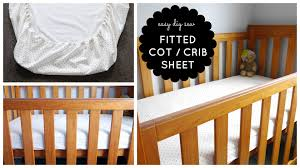 step by step sewing diy baby cot crib fitted sheet tutorial