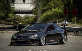 acura stance photo collection rsx type s stance