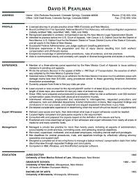 principal attorney resume example law attorney and resume examples