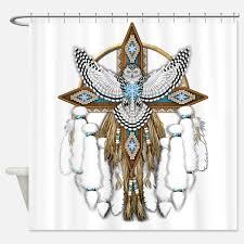 Owl Fabric Shower Curtain Owl Vinyl Shower Curtain Bedbathhome Com Owl Shower Curtain By