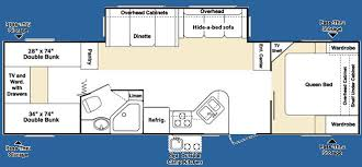 Outback Campers Floor Plans Used 2007 Keystone Rv Outback Sydney Edition 31rqs Travel Trailer