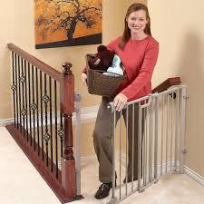 evenflo secure step metal top of stair gate beige model