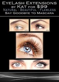 eyelash extensions by kat from new age in mississauga etobicoke gta