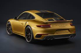 Porsche 911 1st Generation - 607 hp 2018 porsche 911 turbo s exclusive series revealed