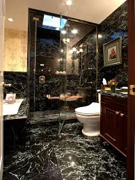 gold bathroom ideas black and gold bathroom from stainless steel shower home