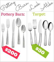target black friday cutlery pottery barn shiny hammered flatware look alike southern savers